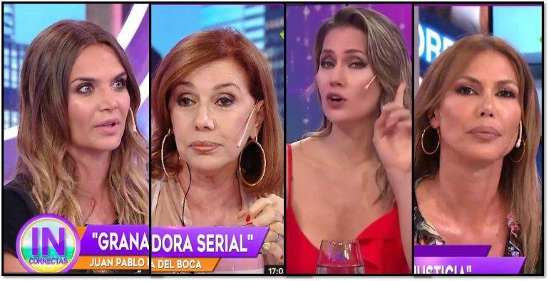 Amalia Granata ya no tiene amigos: terrible pelea con el panel de Incorrectas, que la odian