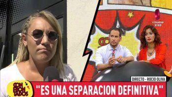 Rocío Oliva plantó un móvil furiosa con una panelista que la mandó al frente con una mentira sobre Maradona