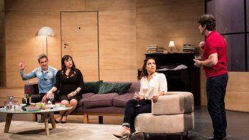 Los vecinos de arriba: Últimas cuatro funciones con Florencia Peña