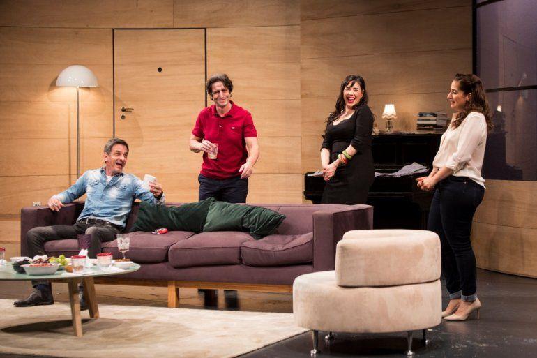 Los vecinos de arriba: Últimas cuatro funciones con Florencia Peña, regresa Muriel Santa Ana
