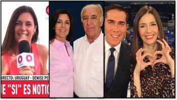 Denise Pesana: la conductora de noticiero que de verdad se enamoró del conductor