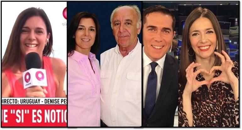 Denise Pesana: la conductora de noticiero que de verdad se enamoró del conductor, no como Cristina Pérez