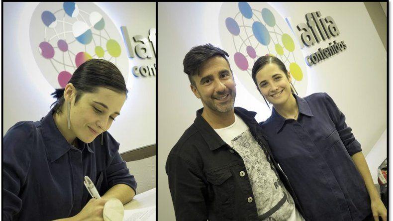 Flor Torrente, firmó y es la primera actriz confirmada en Bailando 2019