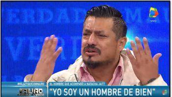 Raúl Velaztiqui Duarte dio la cara y explicó porque ocultó el celular de Natacha Jaitt