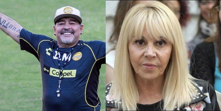 Revés judicial para Claudia Villafañe: la justicia ordenó un inventario de las camisetas de Maradona