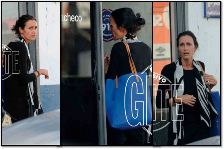 Las imágenes de Federica Pais visitando a su hijo detenido por robo
