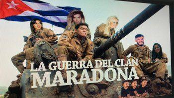 Maradona puso a su familia en guerra más que nunca: tiene tres hijos más y la mitad lo odian