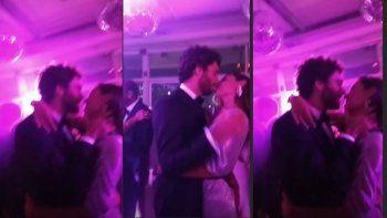 Las imágenes hot de Pampita y su nuevo novio