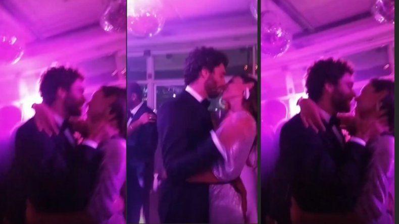 Las imágenes hot de Pampita y su nuevo novio, mimosos y a los besos