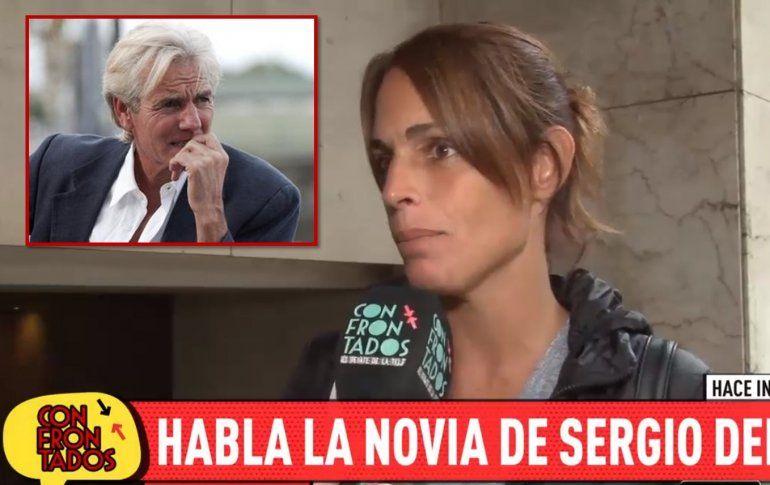 Habló Verónica, la novia de Sergio Denis: Anoche hablé con él, me llamó para despedirse