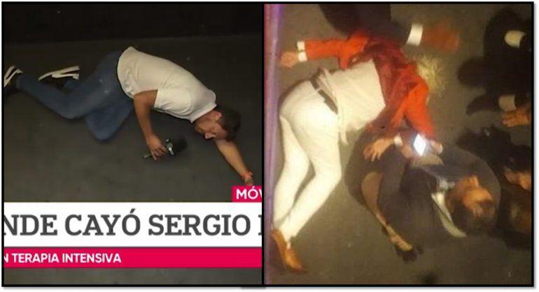 En el Noticiero de la Gente hicieron una simulación de la caída de Sergio Denis, y en las redes los destrozaron