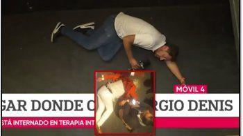 En el Noticiero de la Gente hicieron una simulación de la caída de Sergio Denis