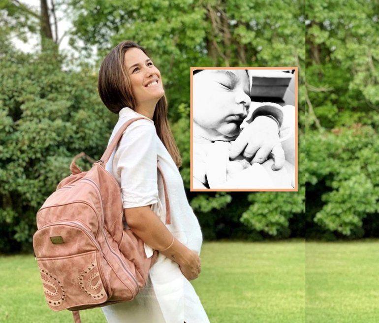 Nació el hijo de Luli Fernández: mirá el extraño nombre que eligió para su bebé