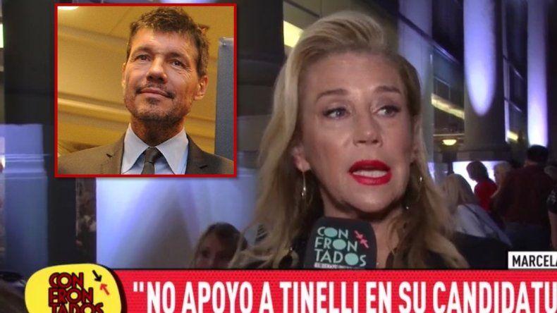 Lo mandó a estudiar: Marcela Tinayre no apoyaría una candidatura de Marcelo Tinelli