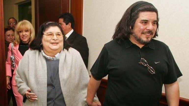 Murió el hijo de Mercedes Sosa, Fabián Matus
