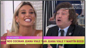 Escándalo y gritos al aire: se volvieron a cruzar Milei y Sol Pérez en el programa de Marcela Tinayre