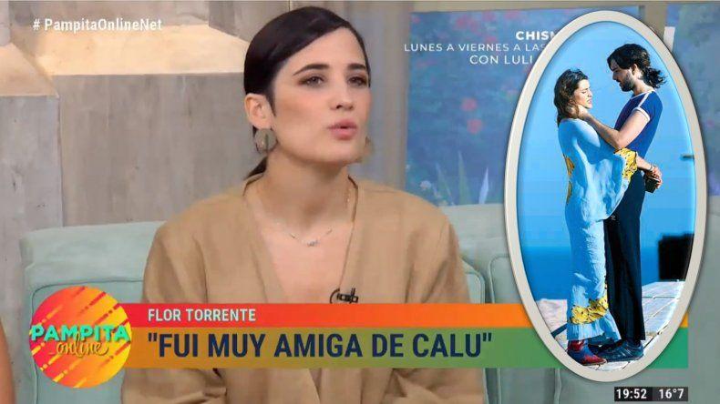 Flor Torrente habló de la relación de Calu Rivero con su ex: Es fuerte