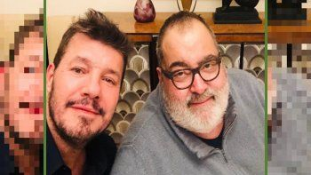 sorpresiva reunion entre marcelo tinelli y jorge lanata: ¿se viene un proyecto juntos?