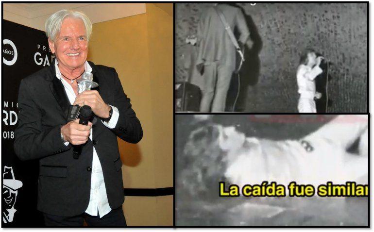Impactante: Hace 46 años Sergio Denis tuvo una caída similar al accidente que sufrió en Tucumán