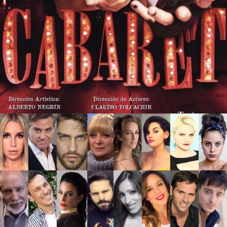 Flor Peña y Mike Amigorena, listos para el debut de Cabaret en el Liceo