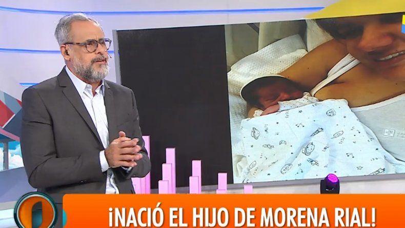 Jorge Rial emocionado relató cómo fue el momento del nacimiento de su nieto Francesco: Lloré cuando me dijeron que había nacido