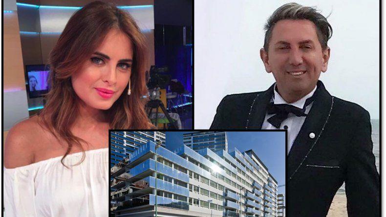 Escándalo con un cenicero en Puerto Madero donde viven Silvina Luna y el diseñador Daniel Casalnovo
