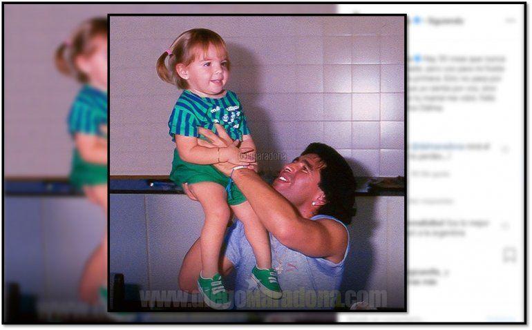 Diego Maradona saludó a Dalma por su cumpleaños, pero le recordó el enfrentamiento con Claudia