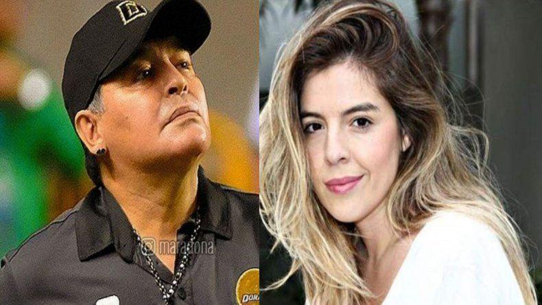 La dura respuesta de Dalma Maradona a su padre: Amor o nada