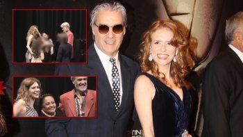 El reencuentro de Roberto Pettinato con su ex