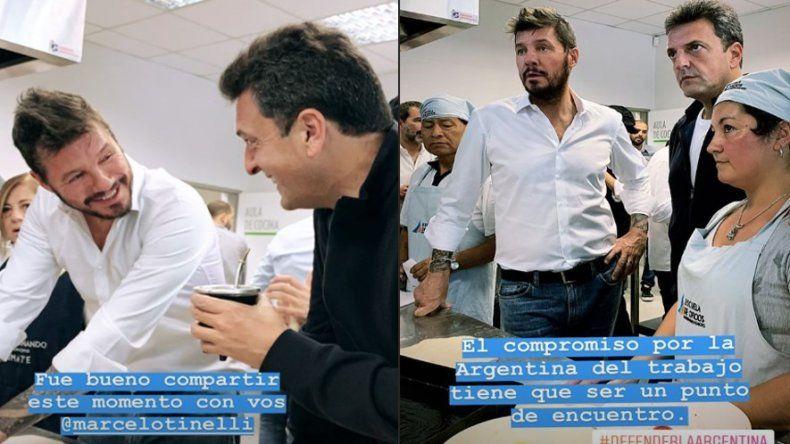 ¿Marcelo Tinelli se lanzó oficialmente en política junto a Sergio Massa?