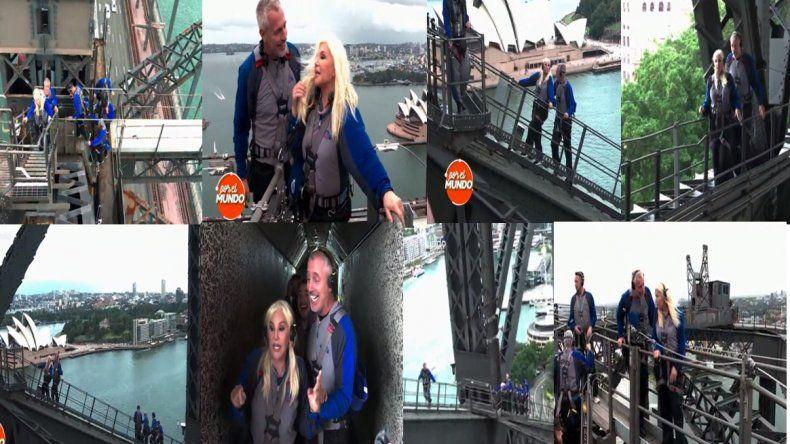 Susana Giménez subió al puente más alto del mundo con Marley, entre risas y reproches