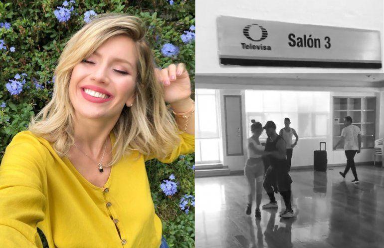 Finalmente, Laurita Fernández viajó a México y se prepara para el reality Pequeños Gigantes