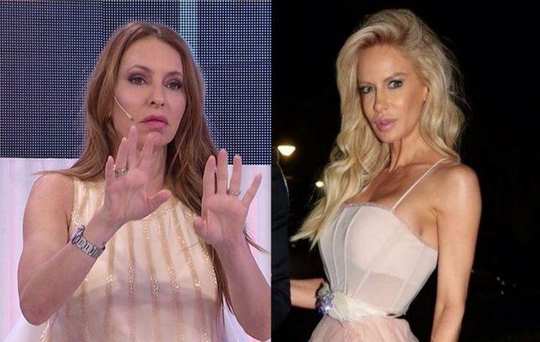 Se desató una tremenda guerra entre Luciana Salazar y Analía Franchín: Con los hijos no!! Basura