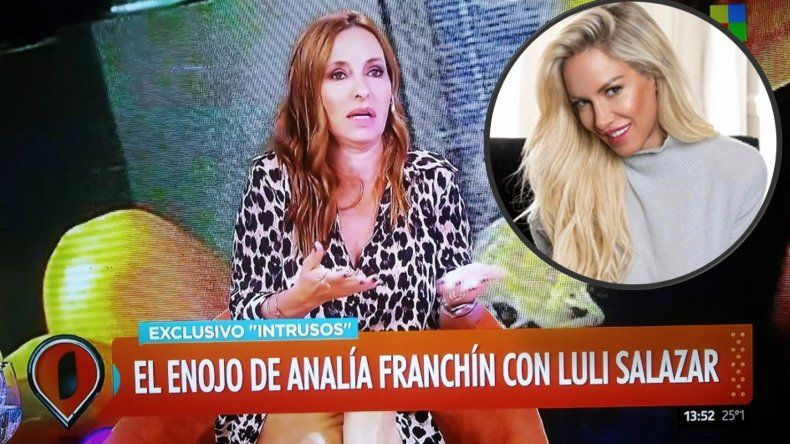 Analía Franchín: Luciana es psicópata y mitómana; está obsesionada con Redrado y cree que todos nos complotamos en su contra