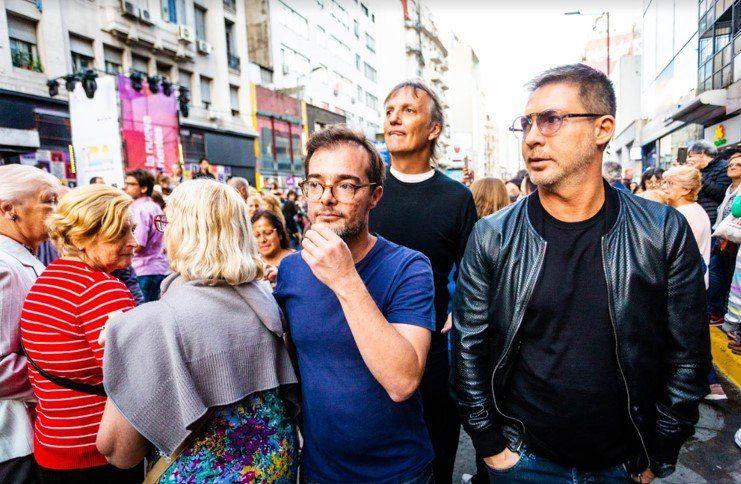 Brillaron los festejos por la reinauguración de la nueva Calle Corrientes