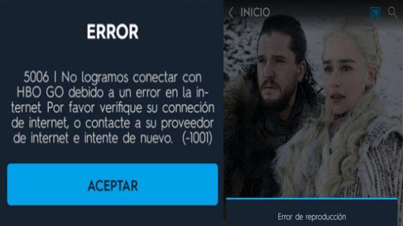 Colapsó HBO minutos antes de iniciarse la última temporada de Games of Thrones y estallaron las memes