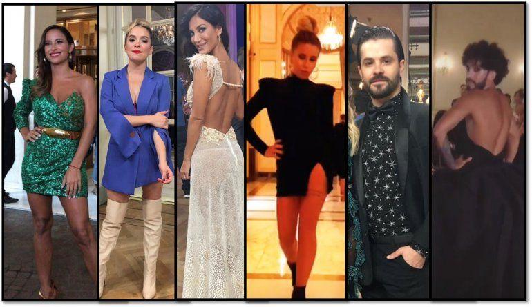 Los looks de la foto del Súper Bailando 2019: los mejores y peores vestidos