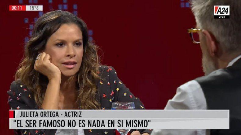 Fuertes declaraciones de Julieta Ortega: Yo aborté en un país donde se podía