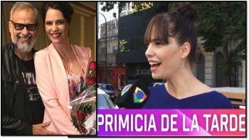 Romina Pereiro dio detalles del casamiento con Rial y reveló un mensaje que le envió el conductor de Intrusos: Estoy cagado