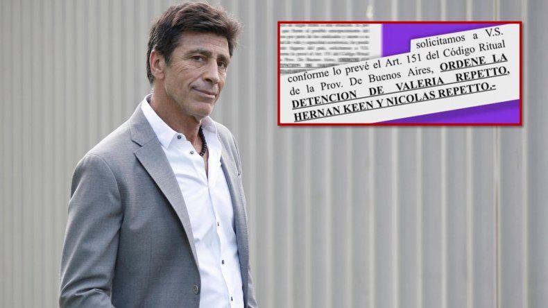 Nicolás Repetto amenazó a una empresa de cerramientos y ahora pedirán su detención y la de su hija