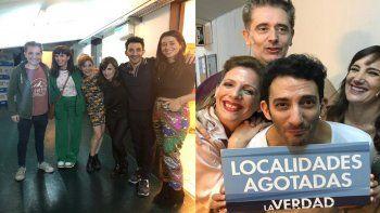 Griselda y Leticia Siciliani fueron al teatro a ver La verdad