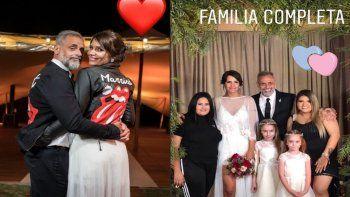 Toda la intimidad del casamiento de Jorge Rial y Romina Pereiro