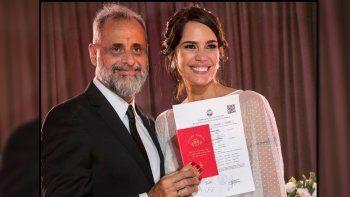 La cifra que se recaudó en la ceremonia de casamiento de Jorge Rial y Romina Pereiro