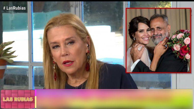 Picante comentario de Marcela Tinayre sobre el tema de los celulares en el casamiento de Rial: Después dicen que censurás, si lo haces vos