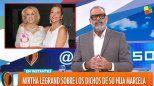 Sigue el conflicto: Rial le respondió a Mirtha Legrand y Marcela Tinayre