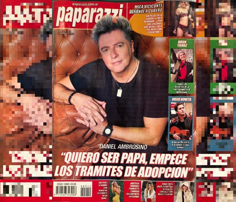 Daniel Ambrosino sorprendió con la noticia: Quiero ser papá, empecé los trámites de adopción