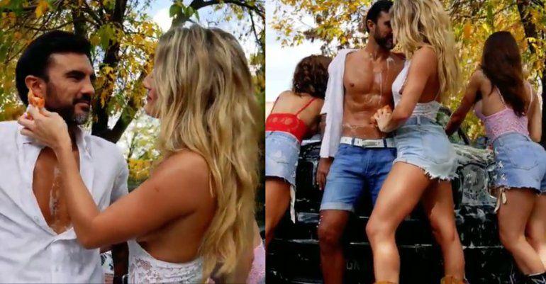 El sensual video de Mica Viviconte y Fabián Cubero, Punto G
