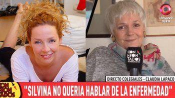 La emotiva despedida de Claudia Lapacó