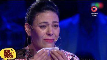 La participante llorona de Del Moro respondió a las críticas: Yo no mentí