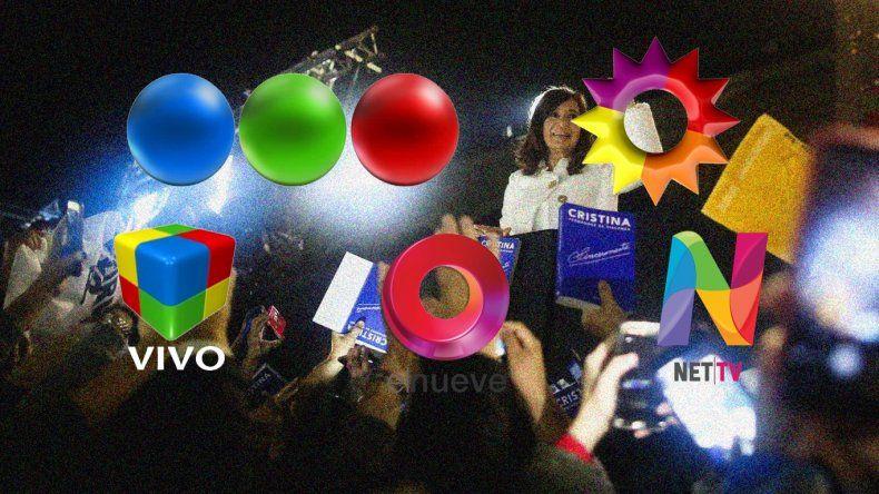 La presentación del libro de Cristina modificó los rating de la noche del jueves